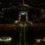 Night view of Trocadero and Palais Chaillot