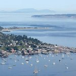 Port Townsend from the air