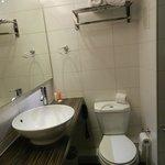 Banheiro, quarto duplo