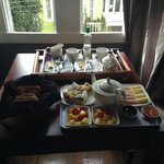 Desayuno completito y llenador!