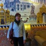 Recepção do Hotel, lindo painel de azulejos