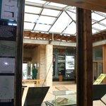 Interior de la Casa del Parque.