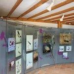 Información y exposiciones que se encuentran en la Casa del Parque.