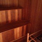 Sauna no bangalô