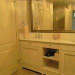 Nice long double vanity