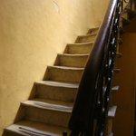 Acceso al segundo piso