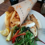 Grilled Blue Eye and Chips, delicious and fresh!