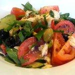 Heritage Tomato, Mozarella and Fresh Basil Salad