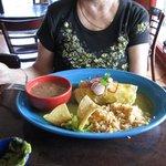 Enchiladas Verde, $12.95