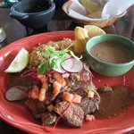 Carnitas Plate, $14.95