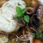 Mero a la Portuguesa...antojo del Chef