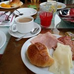 Our breakfast, it was very filling... Coffee was good too...