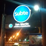 SUBTE (Metro) General San Martin a 20 mts do Hotel