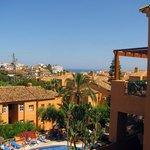 Vista del Mar Mediterráneo desde la terraza del apartamento
