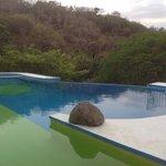 Infinity pool at main house