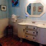 The Sky Blue room bathroom