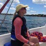 sailing in Key Largo bayside