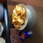 Curley fries at Reggae Ally....nice treat for lunch