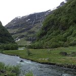 view from Flam Railway