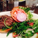 Punch Lamb Burger