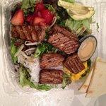 Real Ono Island Ahi Salad