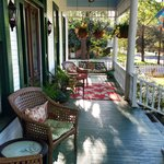 Comfy porch to enjoy peace and quiet of Jefferson