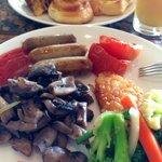 love the hotel breakfast!