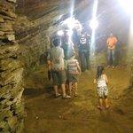 interior da mina