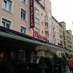 Facade of the hotel mercure, Zurich, Switzerland