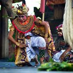 Character in Barong Dance