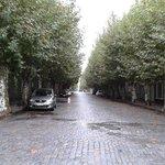 una callecita del casco antiguo