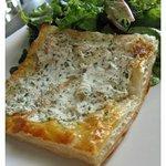 Goat Cheese Tartlet