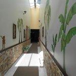 Bright, sunny, clean hallways