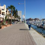 Cabo San Lucas Marina boardwalk