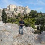 Athens' Acropolis.