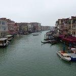 El Gran Canal desde el Rialto