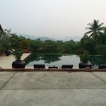 View over pool, to hills beyond. Tranquility personified!
