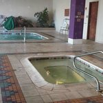 The Indoor Swimming Pool in the morning was empty.