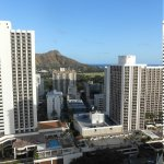 View from room and Diamond Head