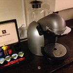 In-room Nespresso: yum!