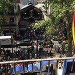 Mercat de Sant Josep de la Boqueria across the street (view from our room)