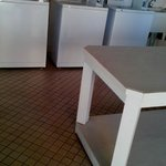Washers and folding table