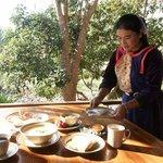 Breakfast at Lisu Lodge