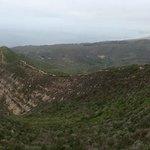 hike through the ridge of the hills