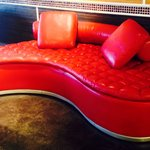 The Red Moon Couch