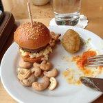 Mini Burger At The Executive Floor Lounge