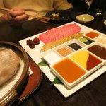 Kobe Beef BBQ on Hot Stone