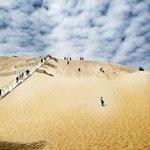 подъём на дюну