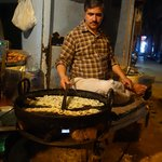 The jalebiwala doing what he does the best