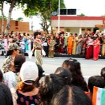 Indian Women Soldiers, Attari-Wagah Border, Amritsar